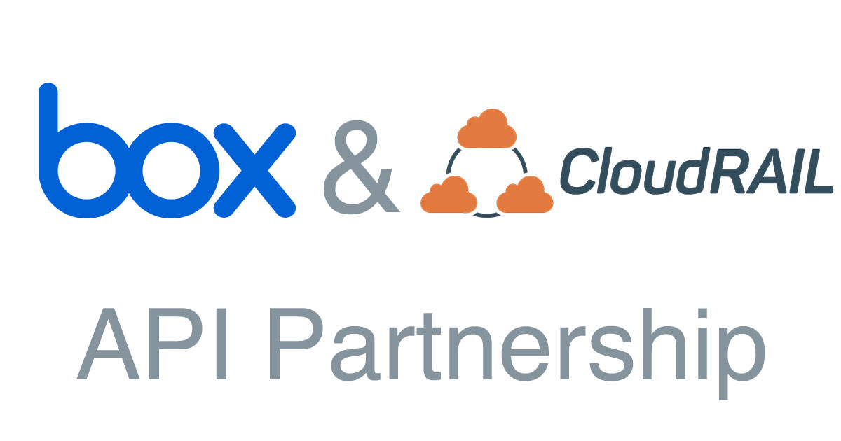 CloudRail Partners with Box to Make API Integrations Easier