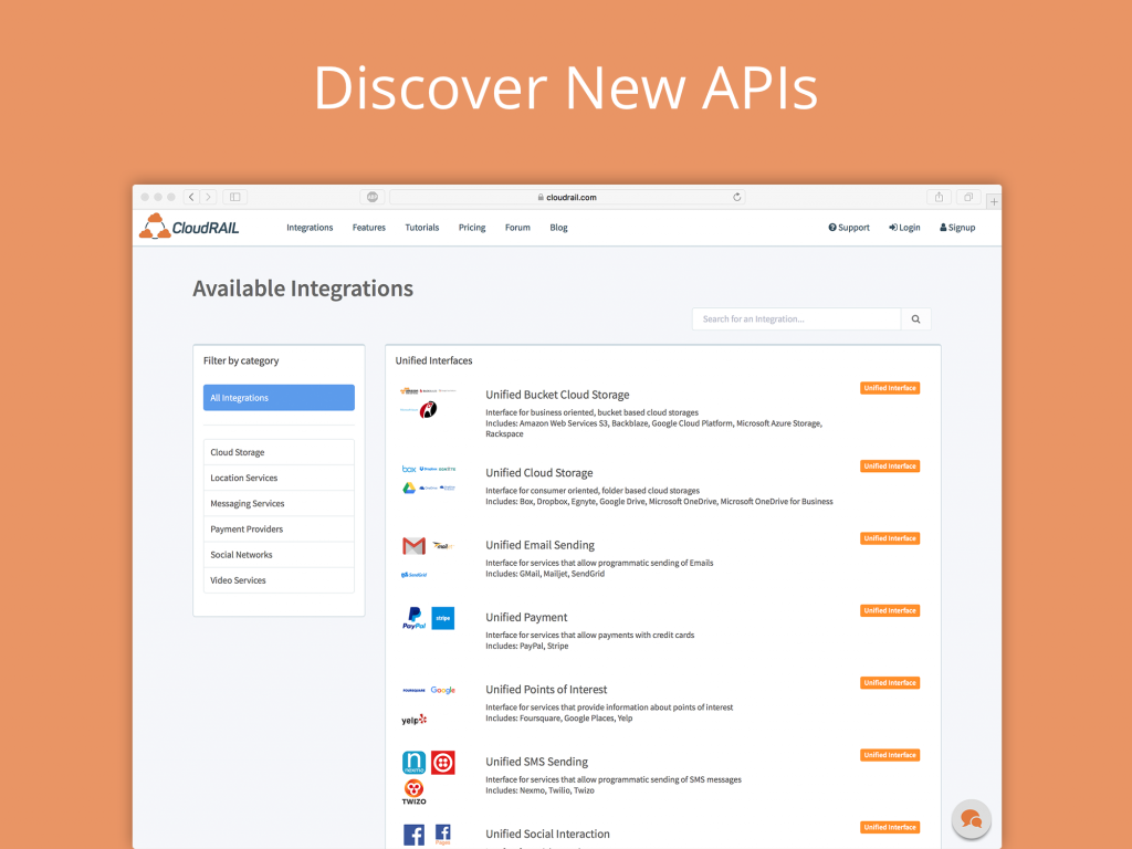 Xamarin Components API Libraries