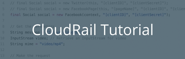 Tutorial: Post Images and Videos to Facebook & Twitter via a Unified API