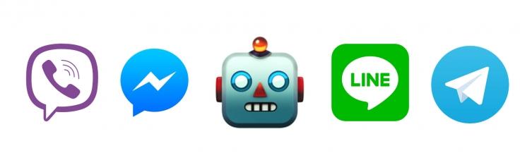 Universal API for Facebook Messenger, Telegram, Line, Slack